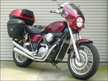 VRX400(ロードスター)95~99年ロードコメットスモークスクリーンパールグレートブルー(PB-262P)通常スクリーンCHICDESIGN(シックデザイン)