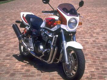 CB1300SF(98~02年)ロードコメットスモークスクリーンキャンディフェニックスブルー(PB-284C)通常スクリーンCHICDESIGN(シックデザイン)