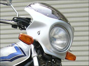 CB400SFHYPERVTEC(99~01年)ロードコメットスモークスクリーンキャンディオーシャングリーン(G-162C)通常スクリーンCHICDESIGN(シックデザイン)