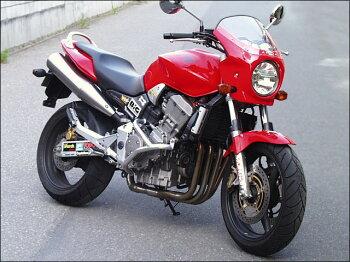 ホーネット(HORNET)CB900(01~07年)ロードコメットスモークスクリーンキャンディタヒチアンブルー(PB-215C)通常スクリーンシックデザイン