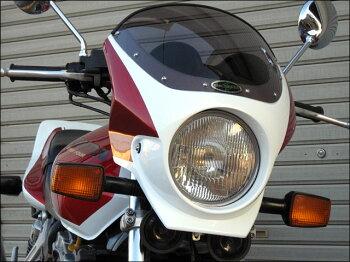 CB1000SF(92~97年)ロードコメット2クリアスクリーンスパークリングシルバーメタリック(NH295M)エアロスクリーンCHICDESIGN(シックデザイン)