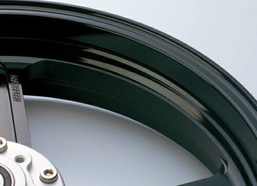 マグネシウム鍛造ホイール TYPE-M リア用 600-17 ブラックメタリック GALE SPEED(ゲイルスピード...