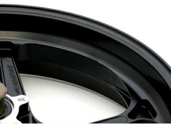 GSX1300R(隼)13~14年ABS仕様アルミニウム鍛造ホイールTYPE-GP1S350-17フロント用半ツヤブラックGコート仕様GALESPEED(ゲイルスピード)