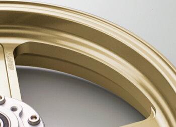 GSX1300R(隼)13~14年ABS仕様アルミニウム鍛造ホイールTYPE-GP1S350-17フロント用ゴールドGコート仕様GALESPEED(ゲイルスピード)