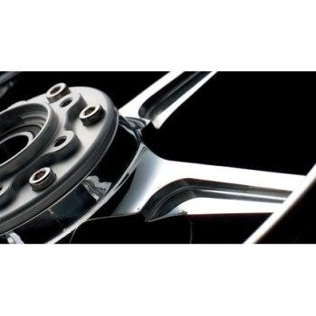 TYPE-C(アルミニウム)鍛造ホイールブラックメタリックR600-17GALESPEED(ゲイルスピード)XJR1200リアシャフト径φ20