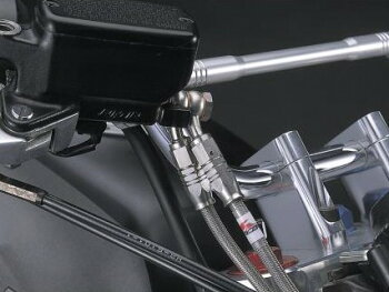 W650(08年ハザード付)バーハンドルキット(300アップハンドル)ブレーキホースオリジナルフルステンレス製HURRICANE(ハリケーン)