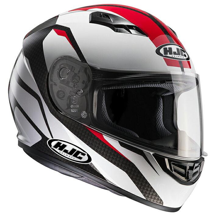 HJH116 CS-15 セブカ フルフェイスヘルメット レッド S(55-56)サイズ HJC