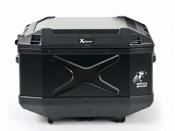 XPLORER(エクスプローラー)トップケース45LブラックHEPCO&BECKER(ヘプコアンドベッカー)汎用送料無料