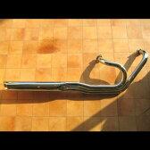 バルカン900(VULCAN)07〜08年 ローライダー2IN1マフラー 90Φ KENTEC(ケンテック)