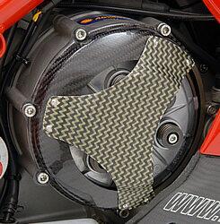 DUCATI1098乾式クラッチ用カバータイプ3綾織りカーボン・ケプラー製MAGICALRACING(マジカルレーシング)