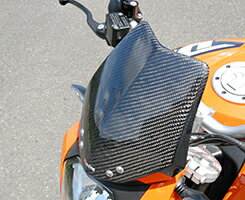 KTM125DUKEバイザーカウル綾織りカーボン製MAGICALRACING(マジカルレーシング)