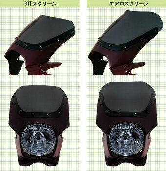Nプロジェクトブラスター2STDスクリーンビキニカウルZEPHYR750/χメタリックダークグリーン(ストライプ)送料無料