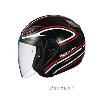 アヴァンド2 ステイド ブラックレッド Mサイズ ジェットヘルメット OGK(オージーケー)