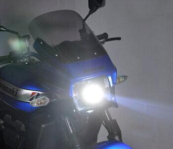 ZRX1200DAEG(ダエグ)09年~LH-3070LEDプロジェクターヘッドライト角目タイプ5000KPROTEC(プロテック)
