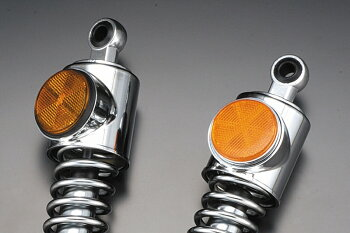 Z1・Z2スタンダードタイプリアショックブラックリム純正型オレンジ350mmPMC(ピーエムシー)