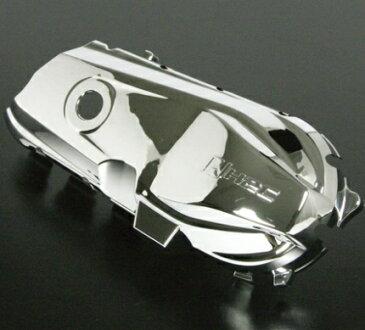 ズーマーX(ZOOMERX) クラッチカバーガーニッシュ ABS製メッキ SP武川(TAKEGAWA)