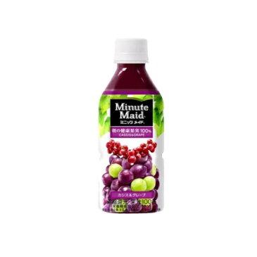 ミニッツメイド カシス&グレープ 350ml ペットボトル 1ケース 24本