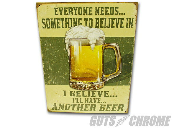 コニシパーツ KO-015 メタルサイン Another Beer ガッツ クローム ko-015画像