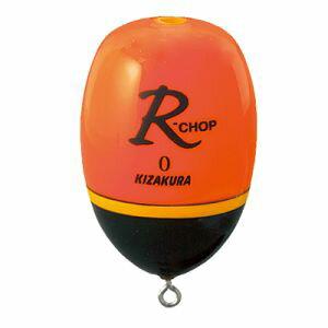 キザクラ027154R-CHOPオレンジ08.1g22×33mm(近距離)釣り海釣りウキ浮き円錐ウキ