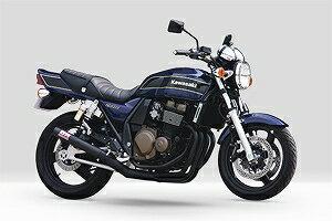 モリワキ 01810-40227-20 ワンピース CAT エキゾーストマフラー ブラック マフラー ZRX400画像