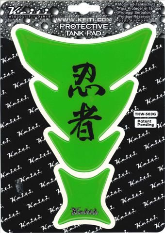 KEITI ADDITION ケイティ TKW503G タンクパッド 「忍者」ライムグリーン KEITI ADDITION ケイティ tkw503g