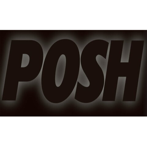 POSH Faith ポッシュフェイス 097001-SP エアロLED リペアレンズストリームラインタイプ オレンジ(1pc)