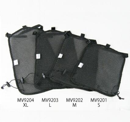 MINERVA ミネルヴァ MV9202 エアメッシュパネル Mサイズ 26×40cm ブラック ラフ&ロード画像