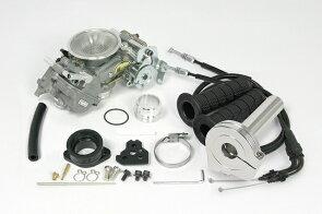 SP武川タケガワ03-05-0072ビッグキャブキット(ミクニTDMR32/シルバー/ファンネル付)モンキー(スーパーヘッド+R2V・4V装着車)