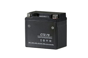 CTZ-7S 充電済バッテリー YTZ7S 互換 PCX125 ズーマー リード125 XR230 CBR1000[SC59] CB400SS[NC41] 【12ヶ月保証】バッテリー 『バイクパーツセンター』 5L-BS互換性有