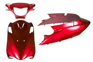 スズキアドレスV125【CF46A】外装セット3点ワインレッドエンブレム付き《限定セット》バイクパーツセンター
