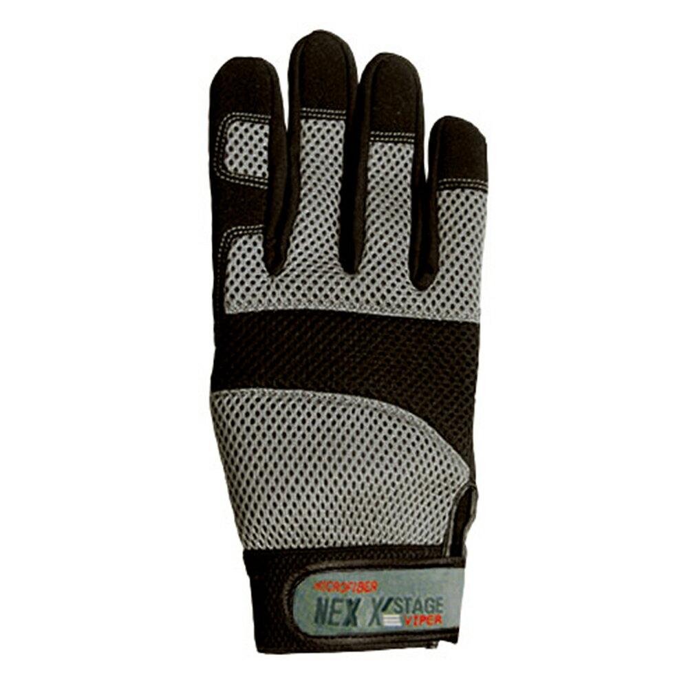 おたふく手袋 ネクステージ・バイパー シルバー L K43SVM  作業用手袋  OTAFUKU GLOVE画像