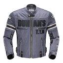 DUHAN モーターサイクル メッシュジャケット グレー 3シーズン  XLサイズ  ドゥーハン  プロテクター付  インナーパッド  ライディングウェア  バイク用  バイクパーツセンターDUHAN ドゥーハン バイク ジャケット 夏・・・