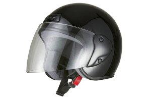 ジェット ヘルメット ブラック ジェッペル スクーター オープン COLLECTION