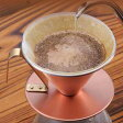 【送料無料】『銅のコーヒードリッパー 艶消 (4079)』[田辺金具]【つや消し コーヒー ドリッパー キッチン 雑貨】