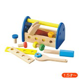 『ウッデントイ ちいさなだいくさん 887649』【木製 玩具 おもちゃ 大工 だいくさん】