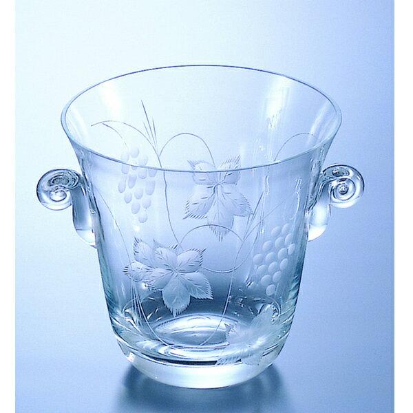 【送料無料・代引無料】『ボルドー アイスバケツ 』 【アイスバケツ ガラス】