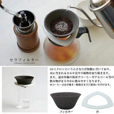 セラミックコーヒーフィルターの使い方