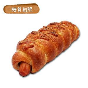 ☆糖質制限 あらびきウインナーロール(3本入り)【BIKKEセレクト】 /糖質オフ/低糖質ダイエット/低GI値/ロカボ/(croissant)