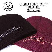 ジャスリブ帽子・キャップJSLVSIGNATURECUFFBEANIEビーニー・ニットキャップ・ニット帽・メンズ/レディース(男女兼用)(フリーサイズ)MBN8033