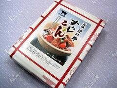 近江牛の「すじ肉」と「赤こんにゃく」の煮込み「すじこん」220gX4個セット