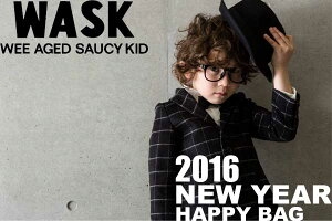 福袋 2016 キッズ wask メール便不可[送料無料] 2016NewYear 新春福袋 WASK ワスク☆:100...