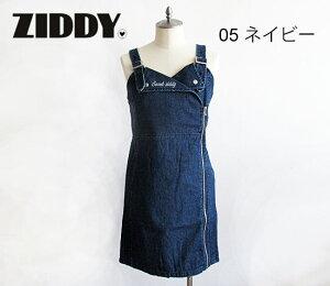 【3000円均一】2020秋冬 ZIDDY ジディ ライダース風デニムジャンパースカート:130〜150cm・FREE:1223-26006
