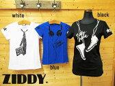 SALE!50%OFF!! 2016夏  ZIDDY ジディ  3柄プリントTシャツ:130cm〜150cm、FREE :1235-73012