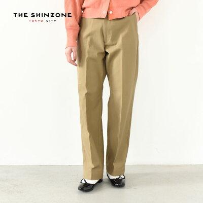 THE SHINZONE ハイウエスト チノパンツ