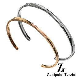 zanipolo terzini (ザニポロタルツィーニ) 【ペア販売】インフィニティ ライン ペアバングル アクセサリー ダイヤモンド [ステンレスブレスレット]