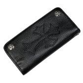 Binich(ビニッチ) 2zipゴシッククロスレザーウォレット 牛革財布 メンズ 送料無料 ラッピング無料