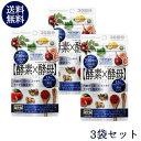 【送料無料・お得な3個セット】イースト×エンザイム ダイエットサプリメント(酵素×酵母ダイエット) 60粒(30回分)*
