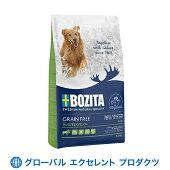 【NEW】犬用ボジータグレインフリーヘラジカ12kgドライフード穀物不使用ナチュラルドッグフードペットフード正規販売店穀物不使用・全犬種成犬用総合栄養食