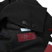 イタリア製スーツメンズブラックスーツclothCERRUTIDAL1881≪チェルッティ≫イタリア製生地2ボタンスーツ黒フォーマル対応MADEINITALY【送料無料】大きいサイズも御用意!88000