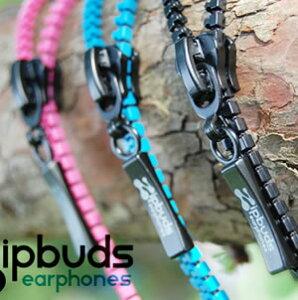 Zipbuds ジップバズ ジッパーインナータイプイヤフォン イヤホンTVで話題!コードがジッパーに...